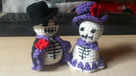 Sir and Lady Skeleton